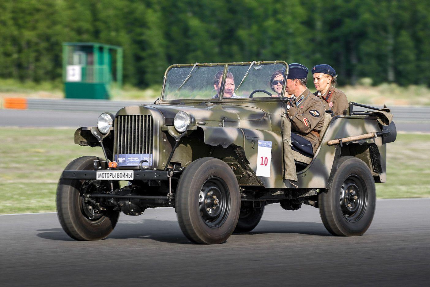 Отреставрированный ГАЗ-64