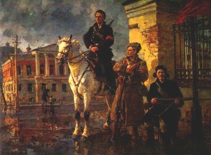Отряды красной гвардии