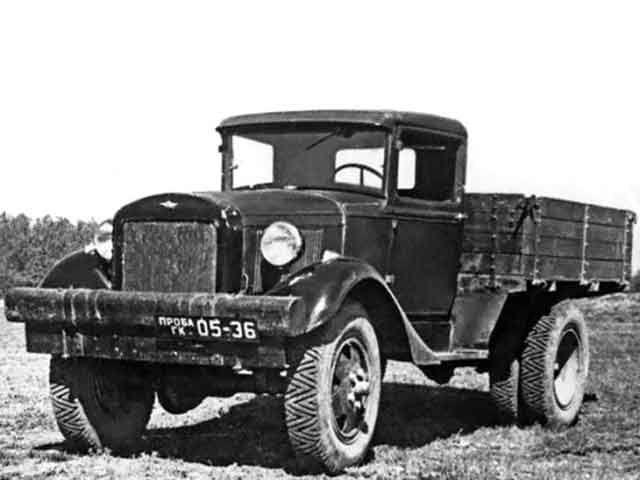 Первая модель ГАЗ-62