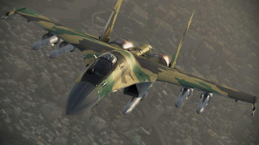 Полет Су-35