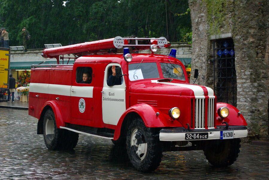 Пожарный ЗИЛ-164