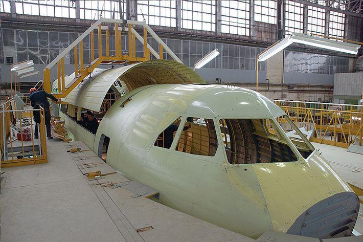 Сборка Ил-112