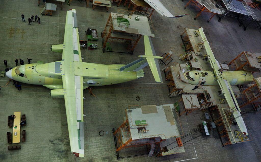 Сборочный цех Ил-112