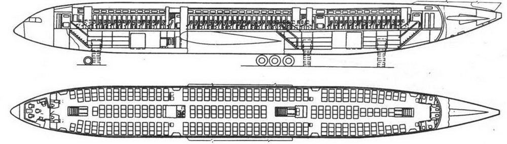 Схема Ил-86