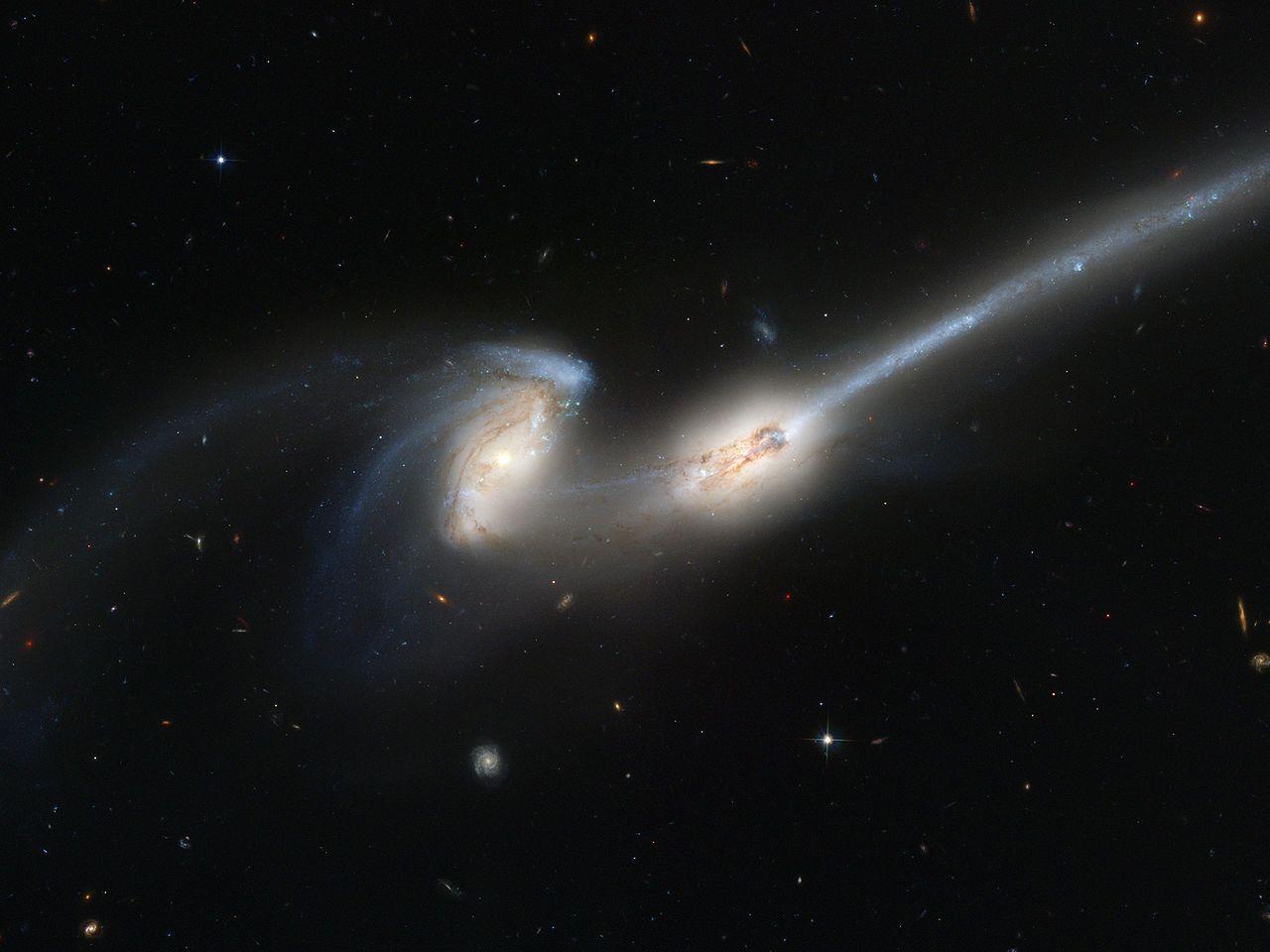 Столкновение галактик