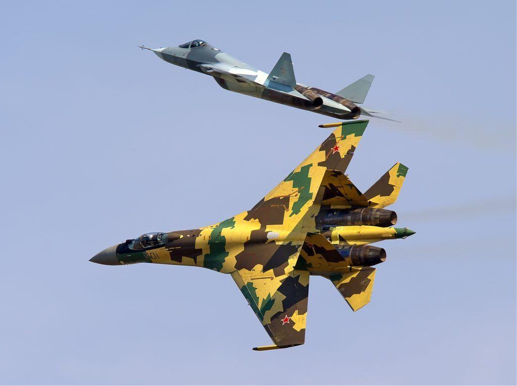 Су-35 и ПАК ФА