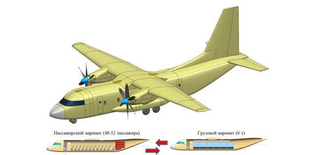 Варианты Ил-112