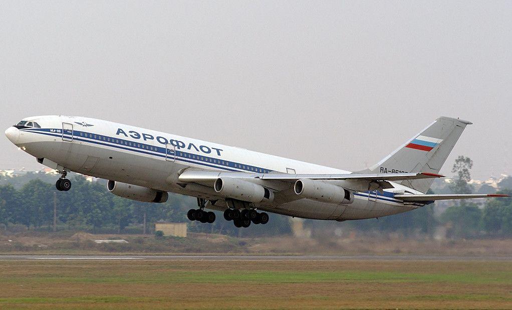 Взлет Ил-86
