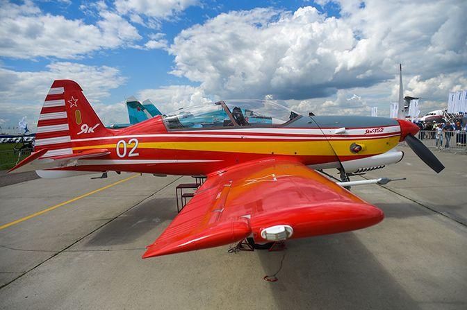 Як-152 на выставке