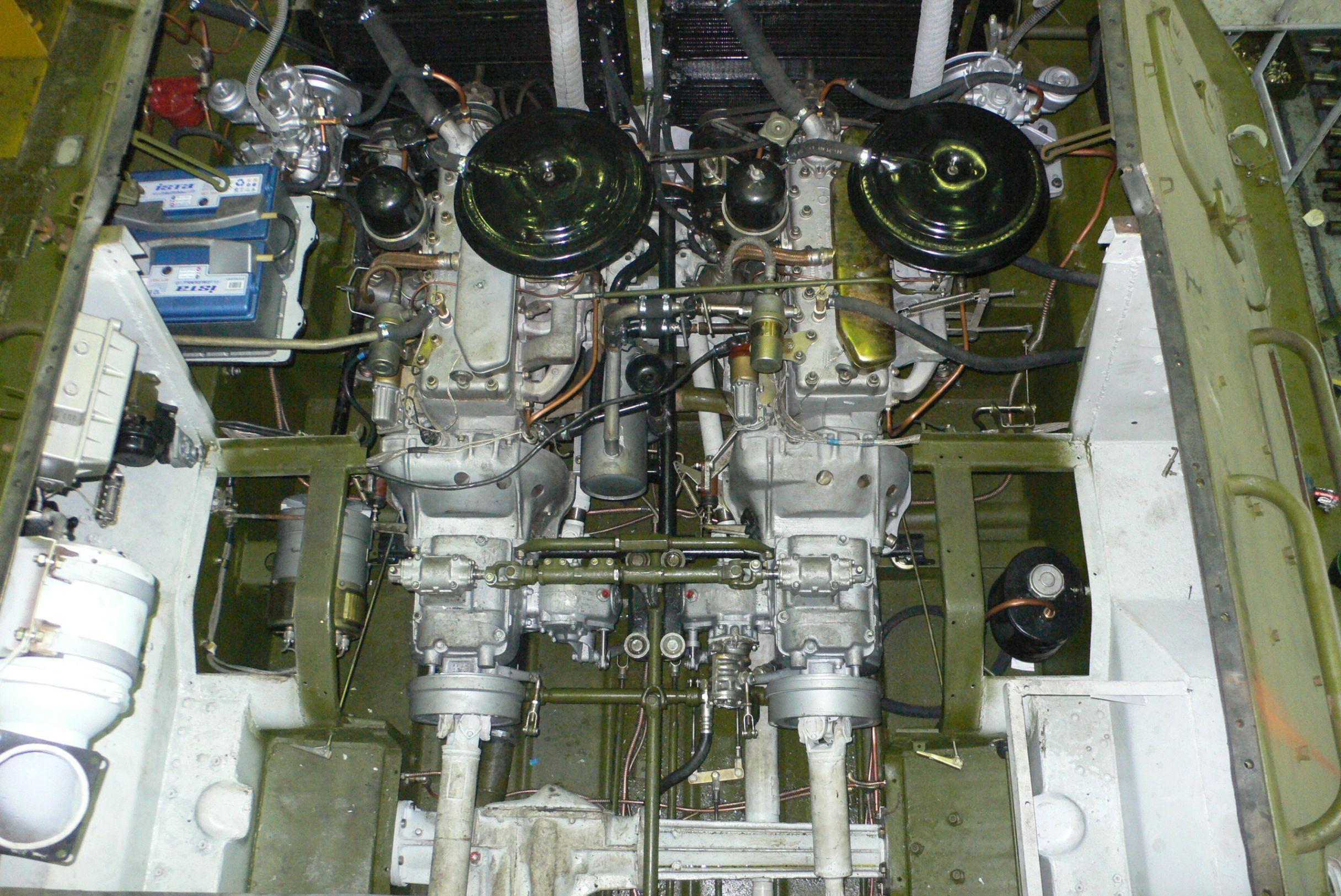 Двигатель БТР-60