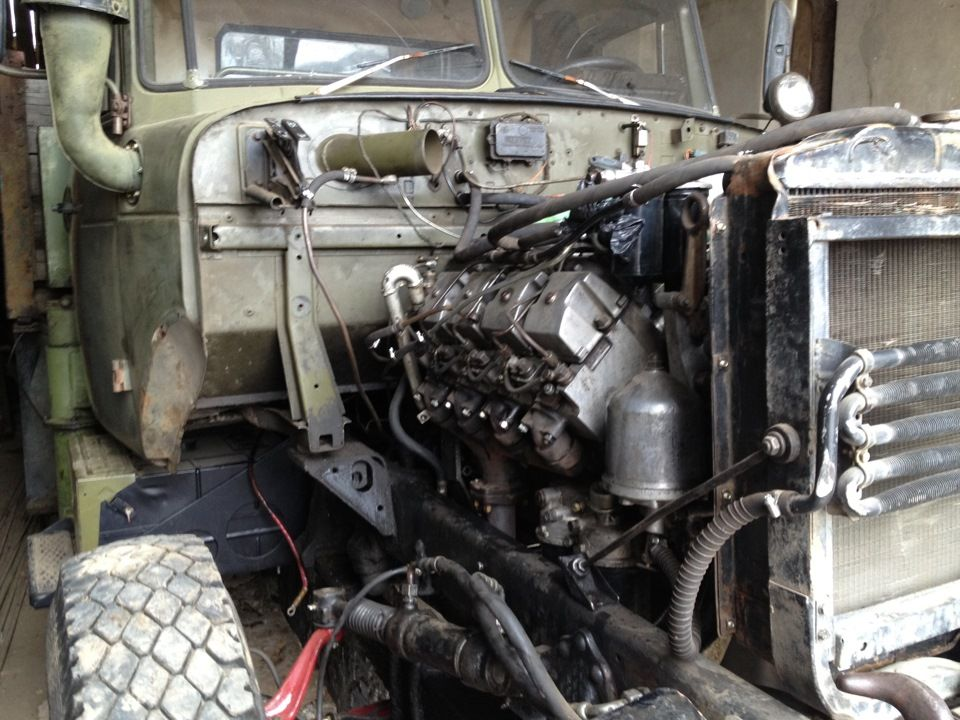 Двигатель Урал-4320