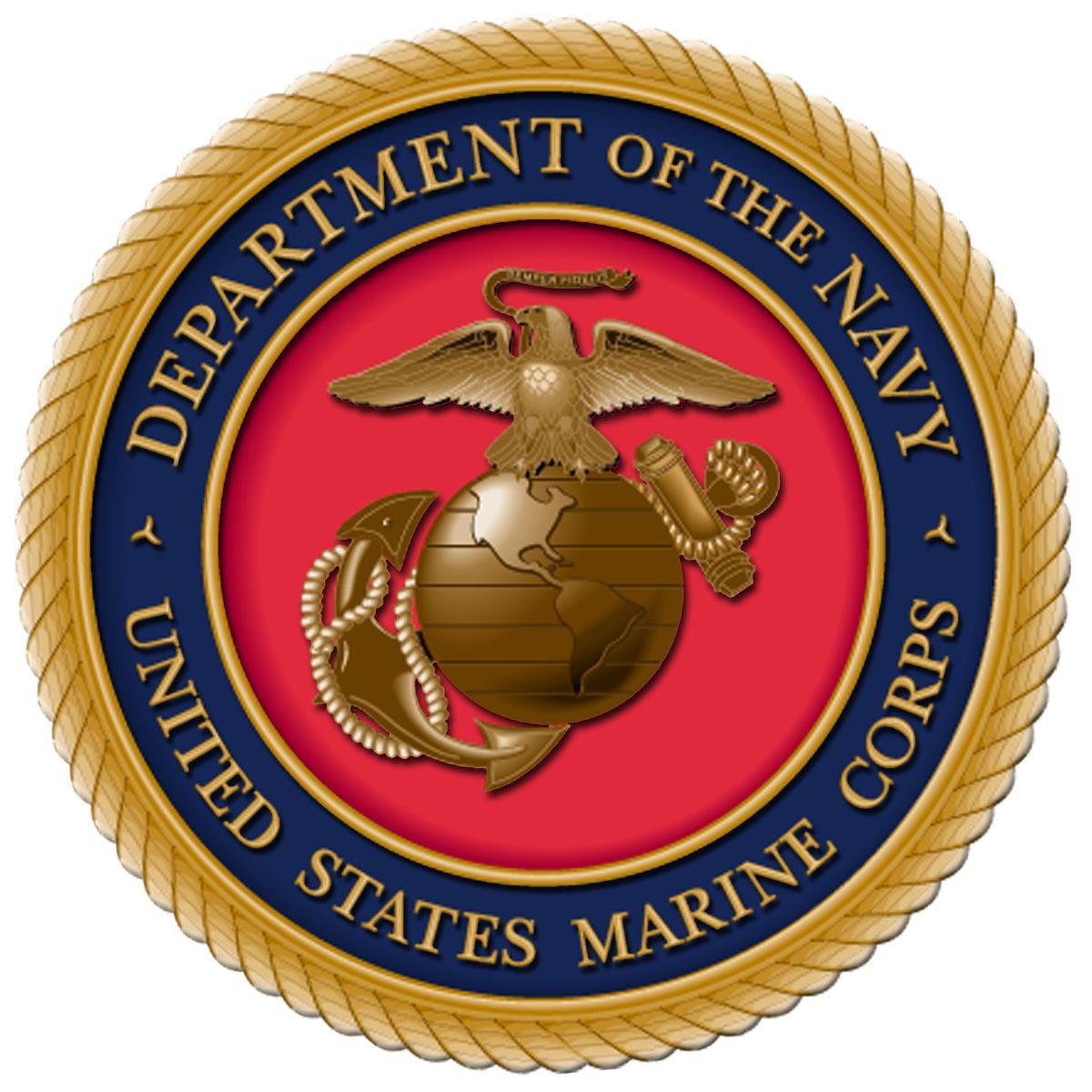 Эмблема корпуса морской пехоты США