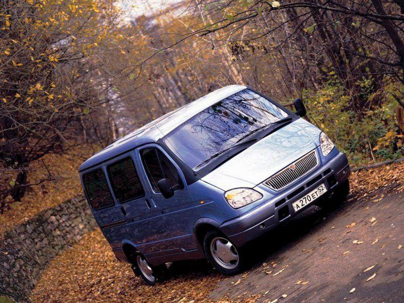 ГАЗ-22171 в парке