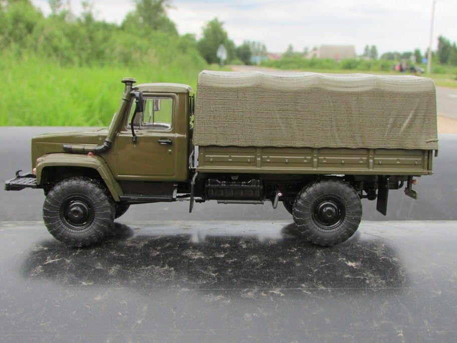 ГАЗ-3308 с крытым кузовом