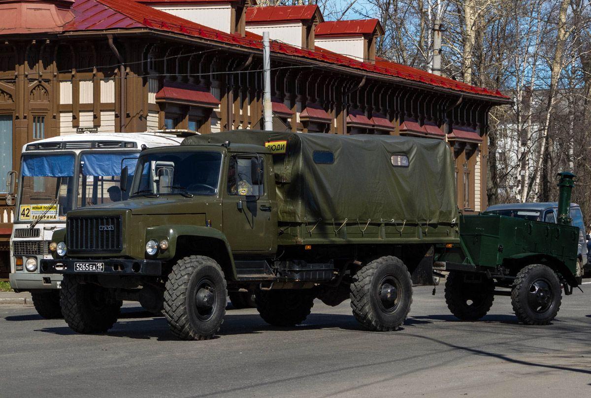 ГАЗ-3308 с прицепом