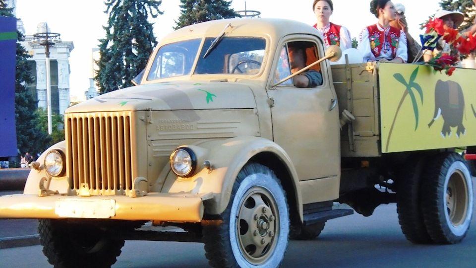 ГАЗ-51 с людьми