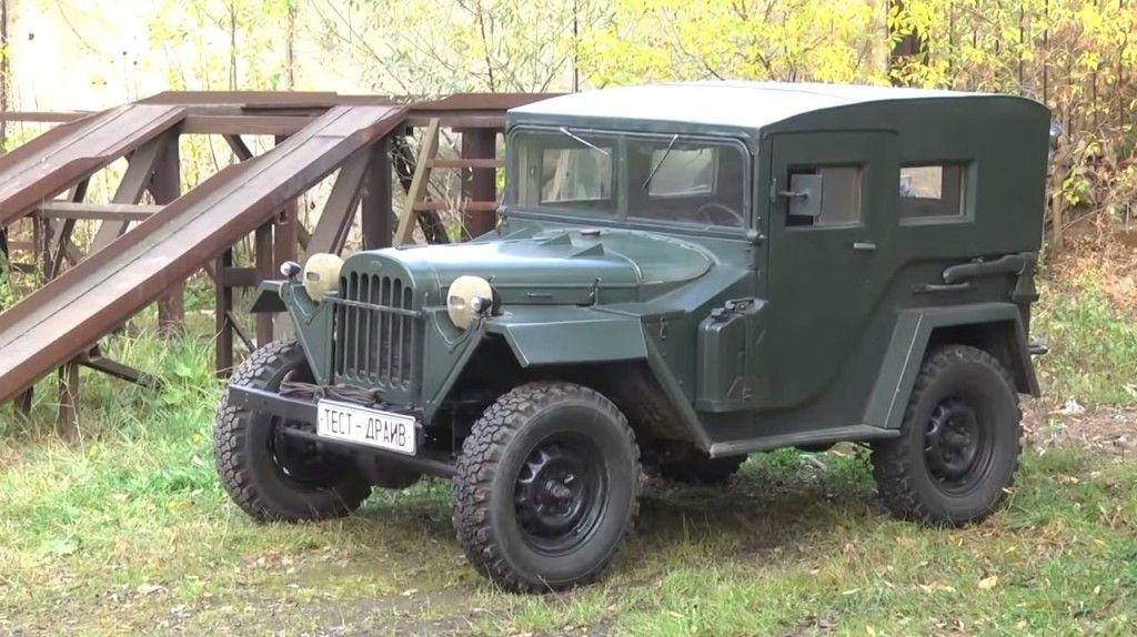ГАЗ-67 на тест-драйве