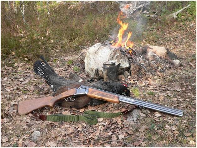 ИЖ-27 на охоте