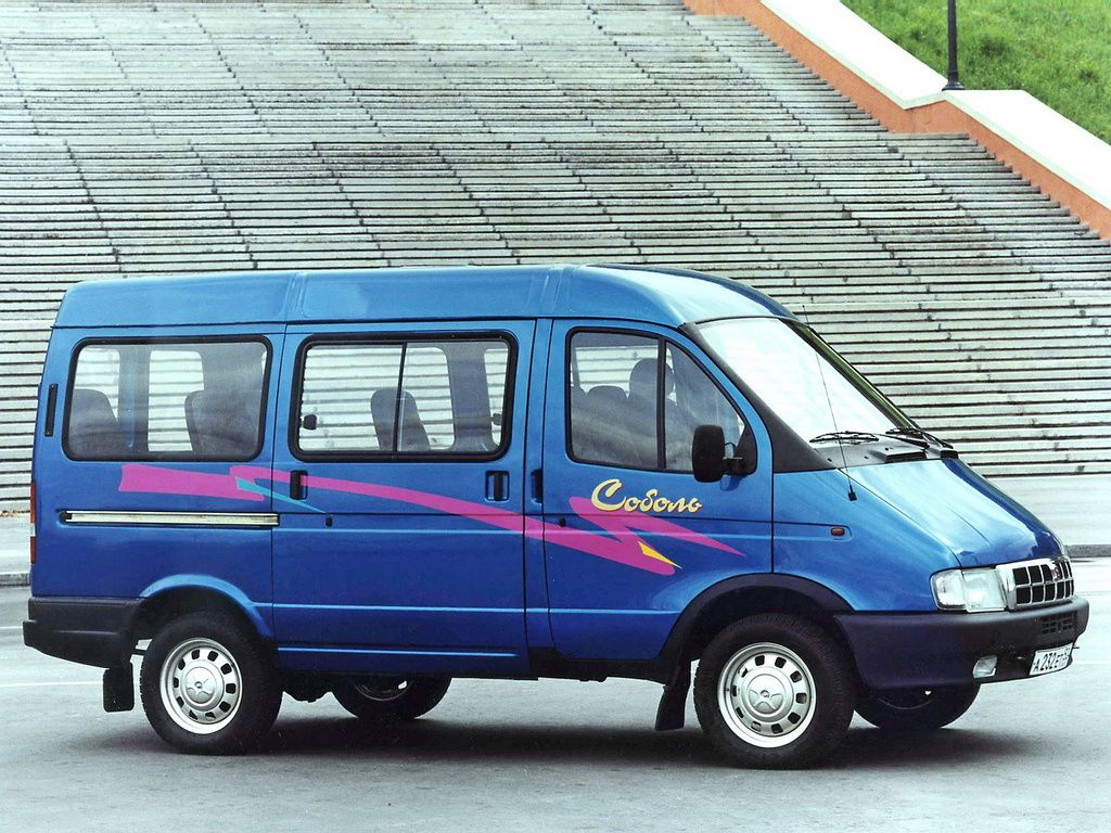 """Микроавтобус ГАЗ-22171 """"Соболь"""""""