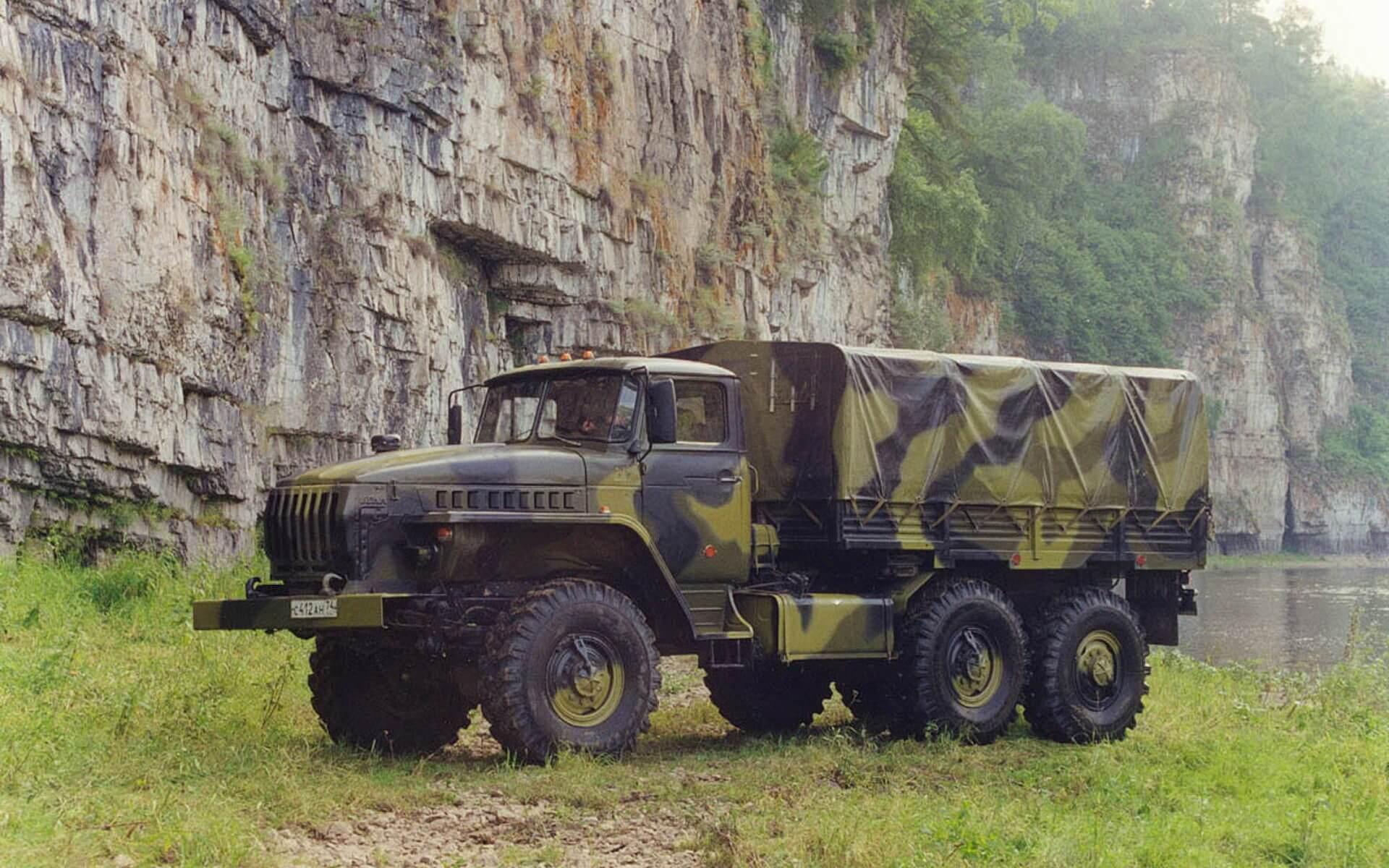 Модификация Урал-4320