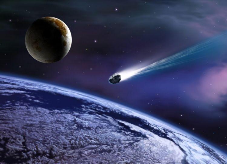 Падение фрагмента кометы
