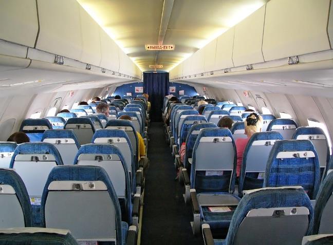 Пассажирский салон Як-42
