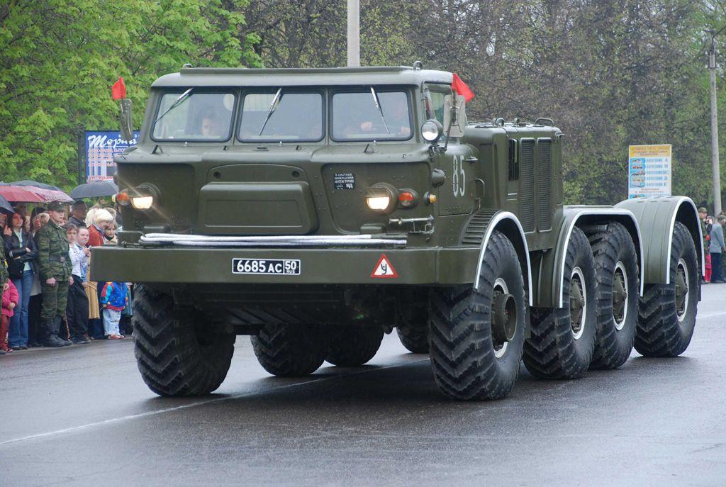 Самоходное шасси ЗИЛ-135