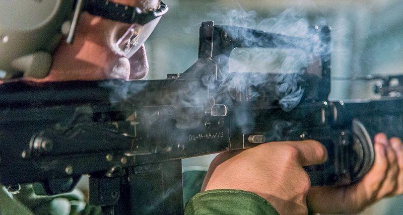 """Стрельба из ОЦ-14 """"Гроза"""""""