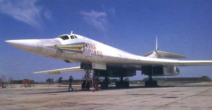 Ту-160 на аэродроме