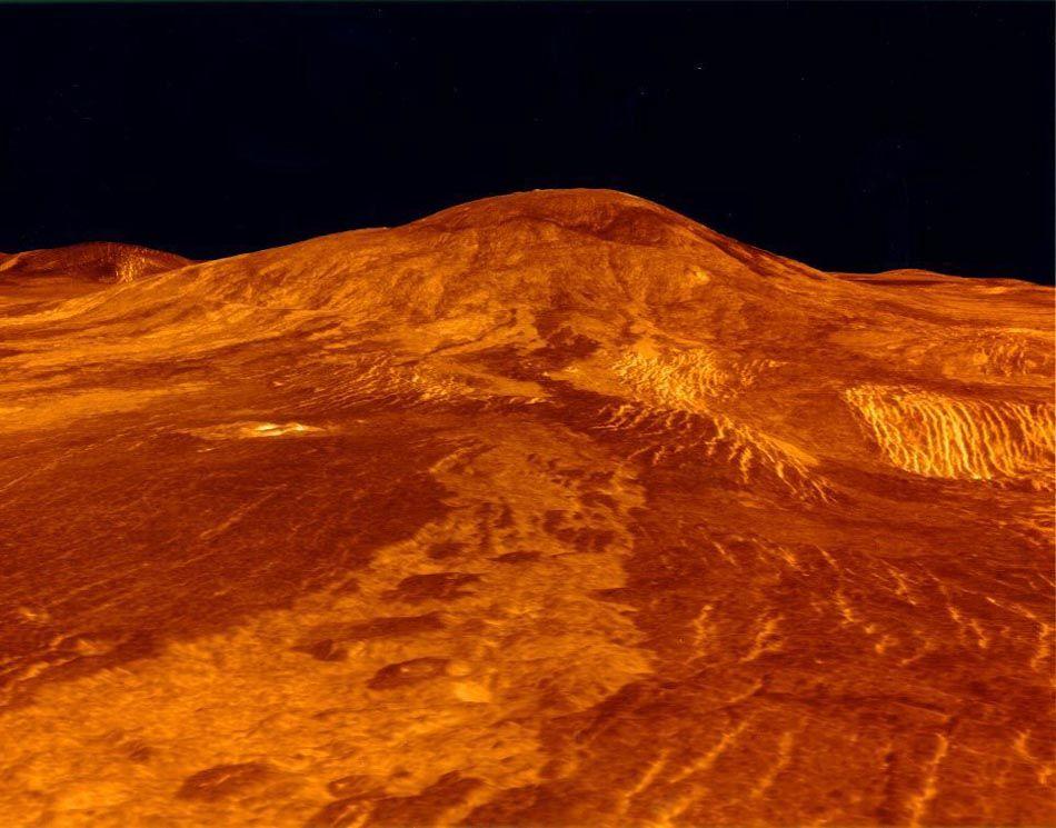 Вулканы Венеры