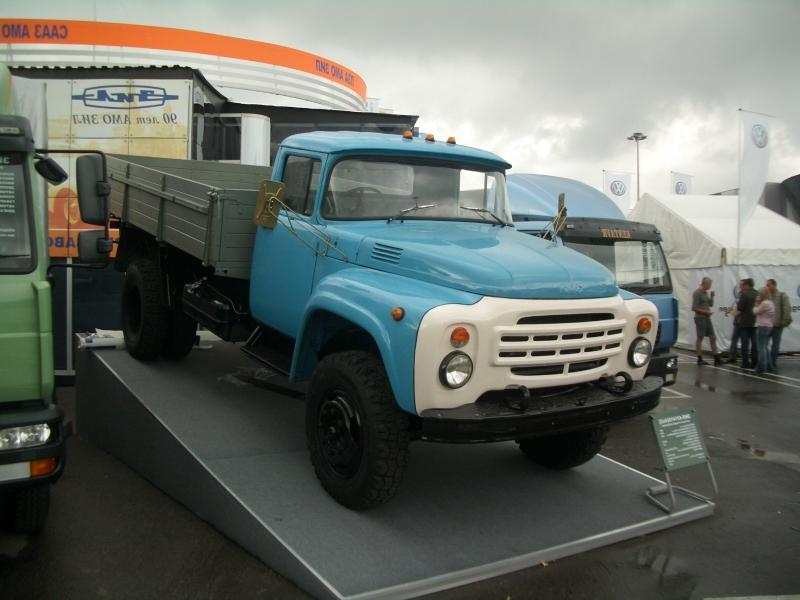 ЗИЛ-130 на выставке