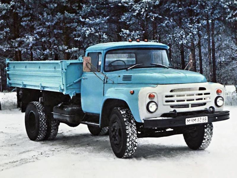 ЗИЛ-431410 на снегу