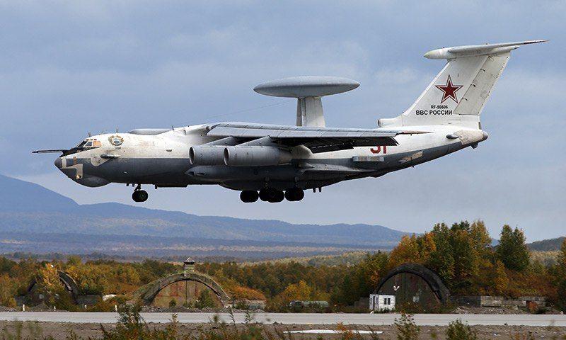А-100 над землей