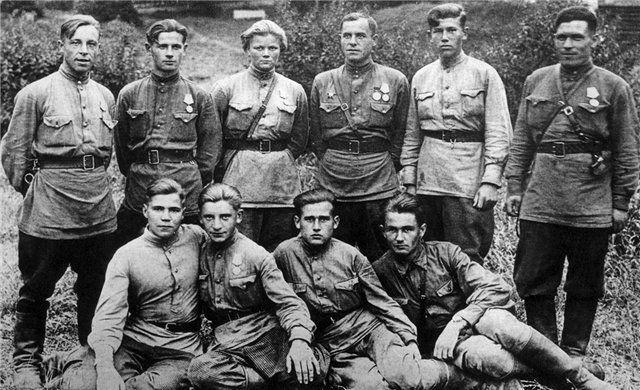 Бойцы НКВД