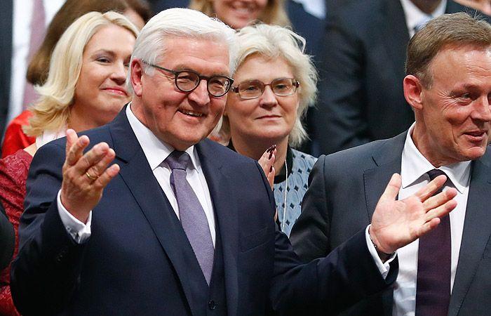 Действующий президент Германии
