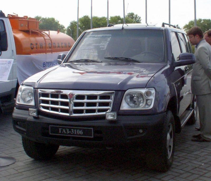 ГАЗ-3106 на выставке