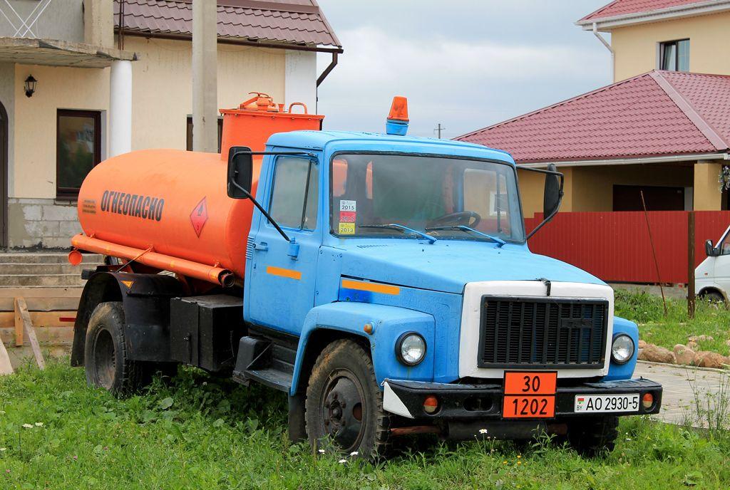 ГАЗ-3306 с цистерной