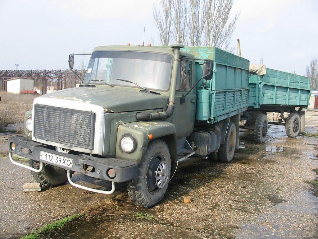 ГАЗ-4301 с прицепом