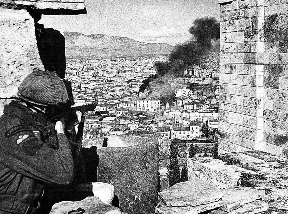 Гражданская война в Греции