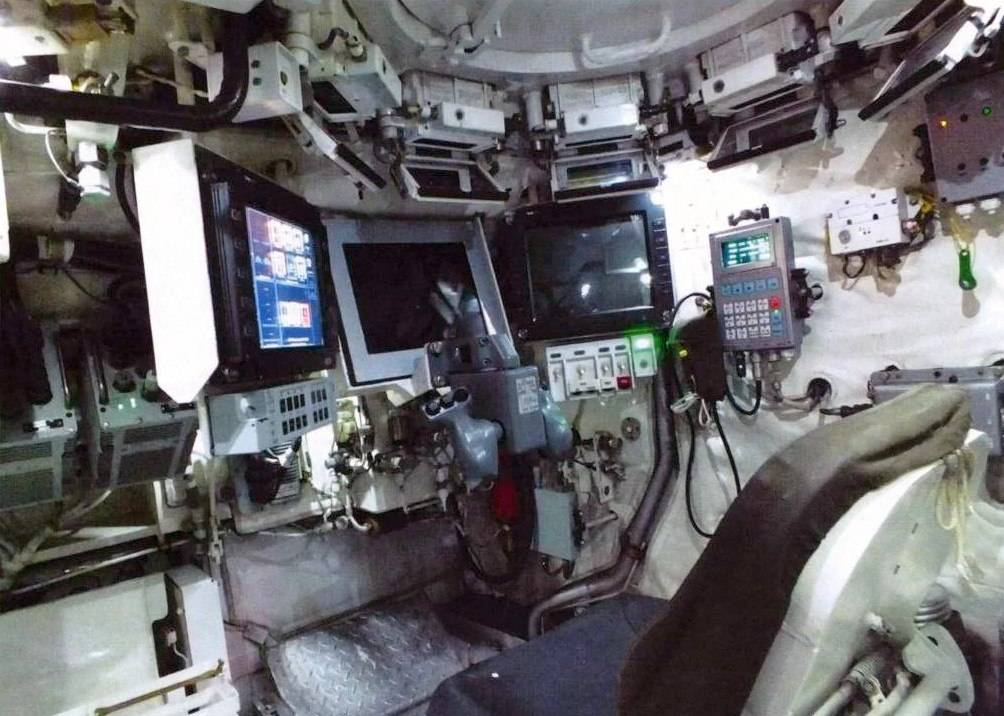 Кабина Т-15