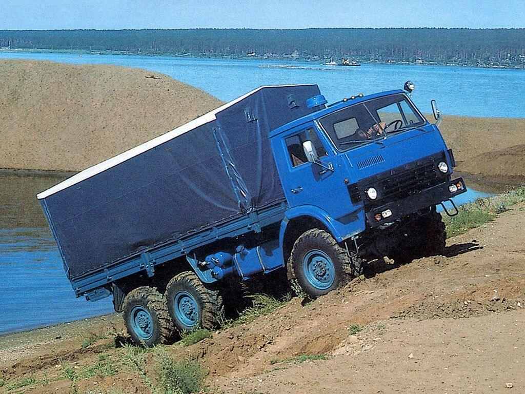 КАМАЗ-4310 на подъеме