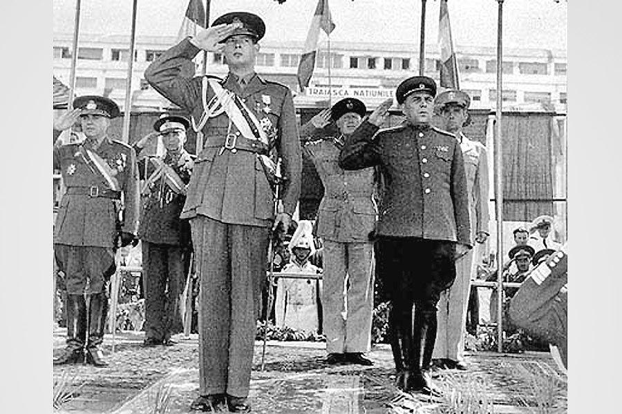 Король Михай и советские войска