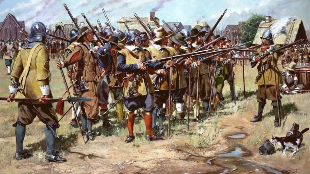 Мушкеты в бою
