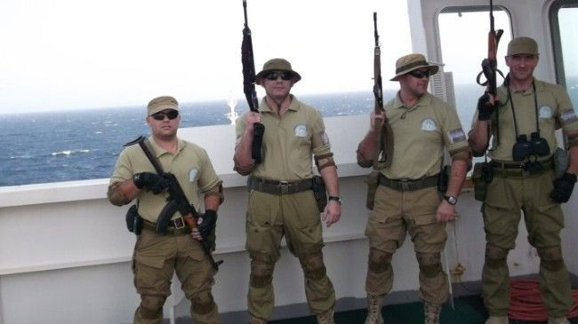 Наемники на борту судна