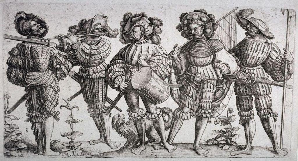 Наемники в средневековье
