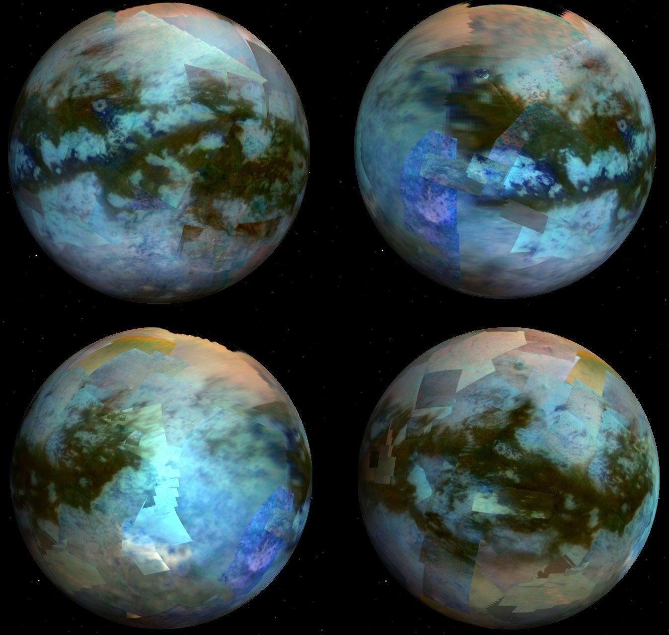Облака на Титане