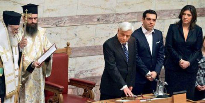 Президент Греции в парламенте