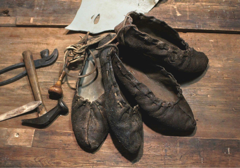 Традиционная украинская обувь