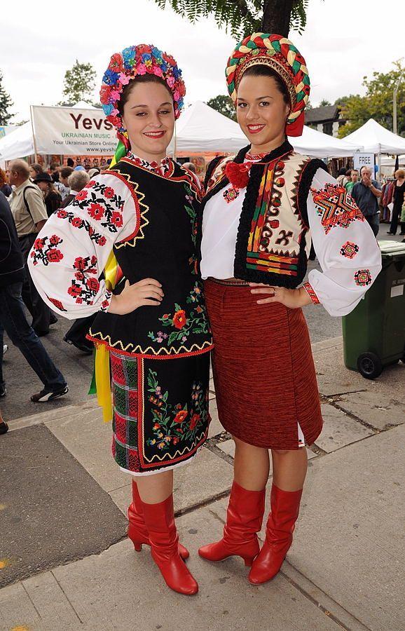 Украинская женская одежда