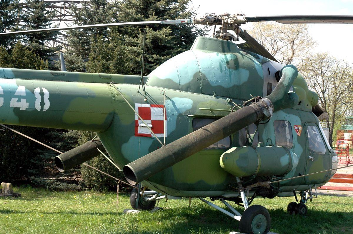 Вертолет дымовой завесы Ми-2Х